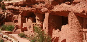 The Manitou Cliff Dwellings