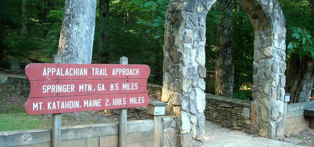 Appalachian Southern Trail Head Blue Ridge Roadtrippers