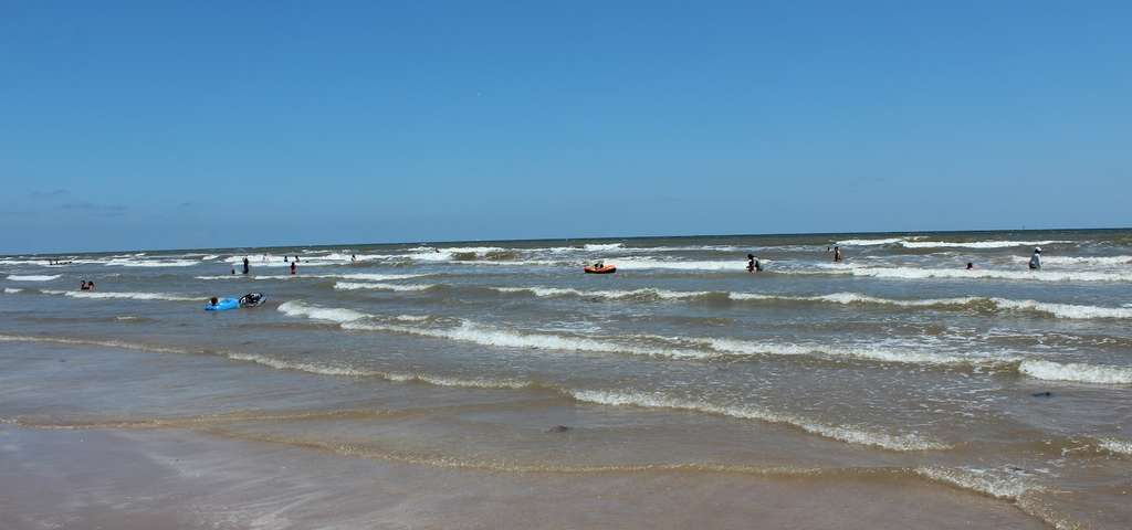 Bryan Beach Freeport Texas Usa