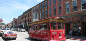 Galena Trolley Tours Depot