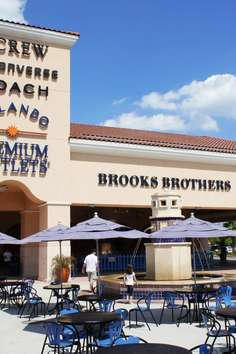 Prime Outlets host over of your favorite brand names, you'll be sure to find just what you're looking for at Orlando's largest outlet center. Located at the north end of International Drive and just minutes from Universal Studios and Wet & Wild.