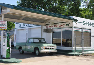 Historic Sinclair Gas Station