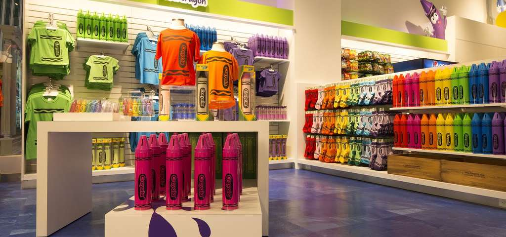 the crayola store easton roadtrippers