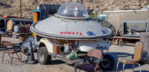 Coyote's Flying Saucer Retrievals and Repairs