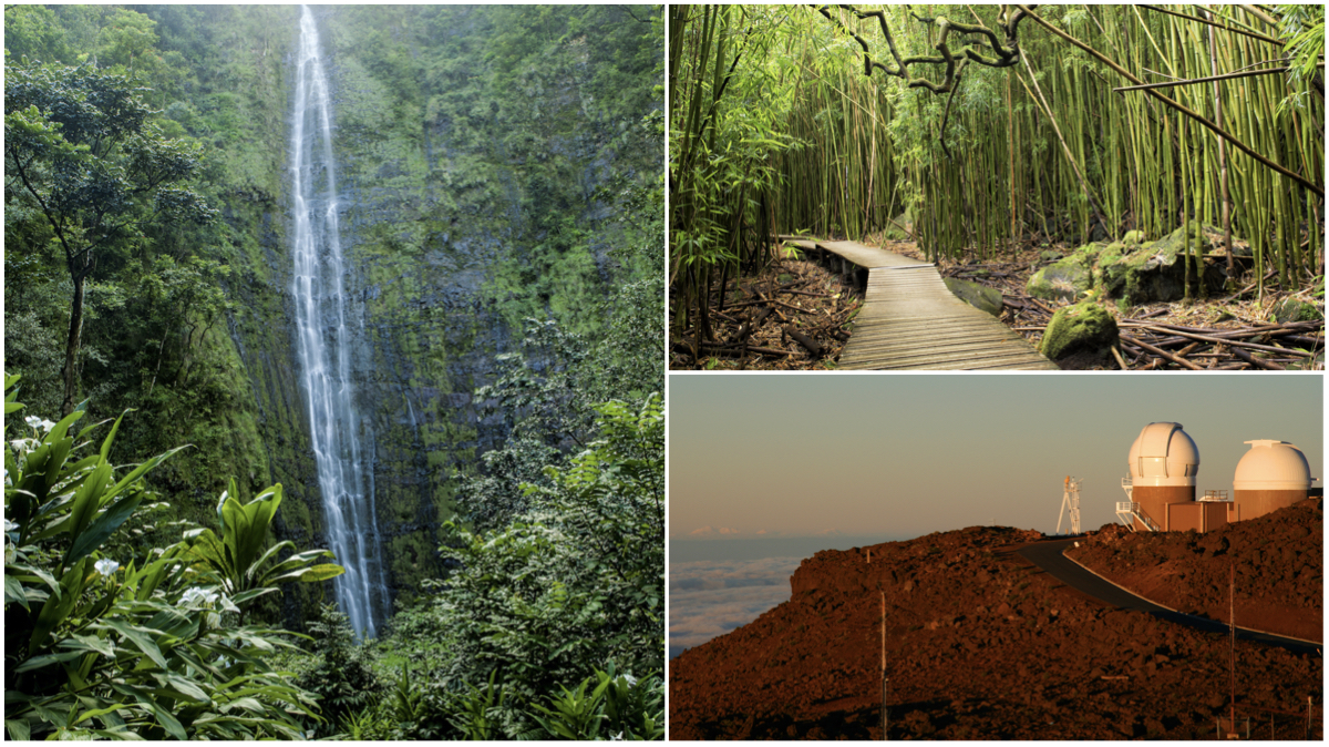 This national park is home to unreal stargazing, bamboo forest hikes, and insane waterfall trails