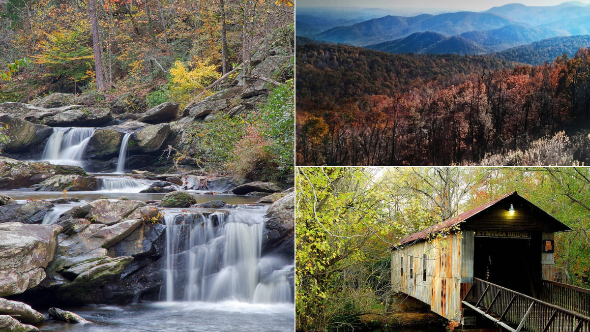 Road trip through the Appalachian Mountains' southern edge along the Talladega Scenic Byway