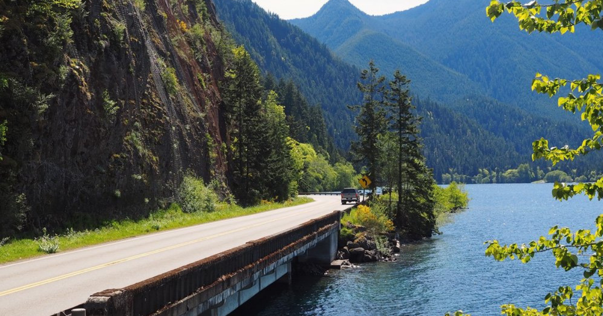 The Olympic Peninsula Loop is a 351-mile road trip adventure of a lifetime