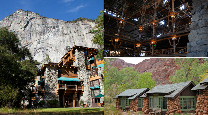 These National Parks lodges are just as historic as they are beautiful