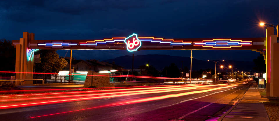 New Mexico is the land of retro Route 66 neon