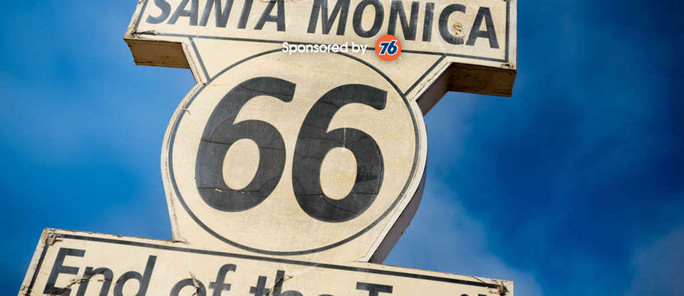 Seeing the sights on California's section of Route 66