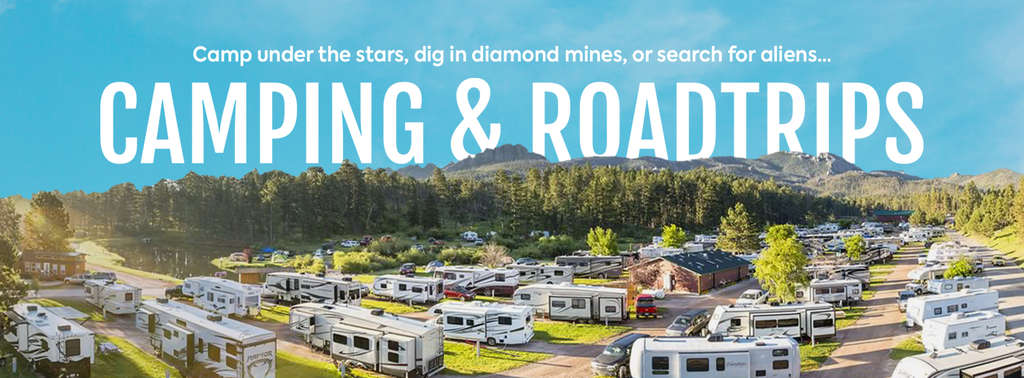 Camping & Road Trips   Roadtrippers